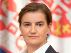 Ana Brnabić nije želela da komentariše postupke drugih članova Vlade. Time bi, smatra, prekršila pretpostavku nevinosti i vladavine prava.  Foto: www.srbija.gov.rs