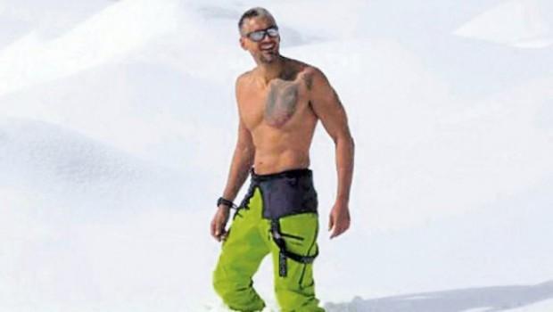 Čedomir Jovanović na planinarenju u Južnoj Americi