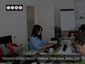 Transparency Serbia: Non-Transparency and Selectivity of the Tax Administration