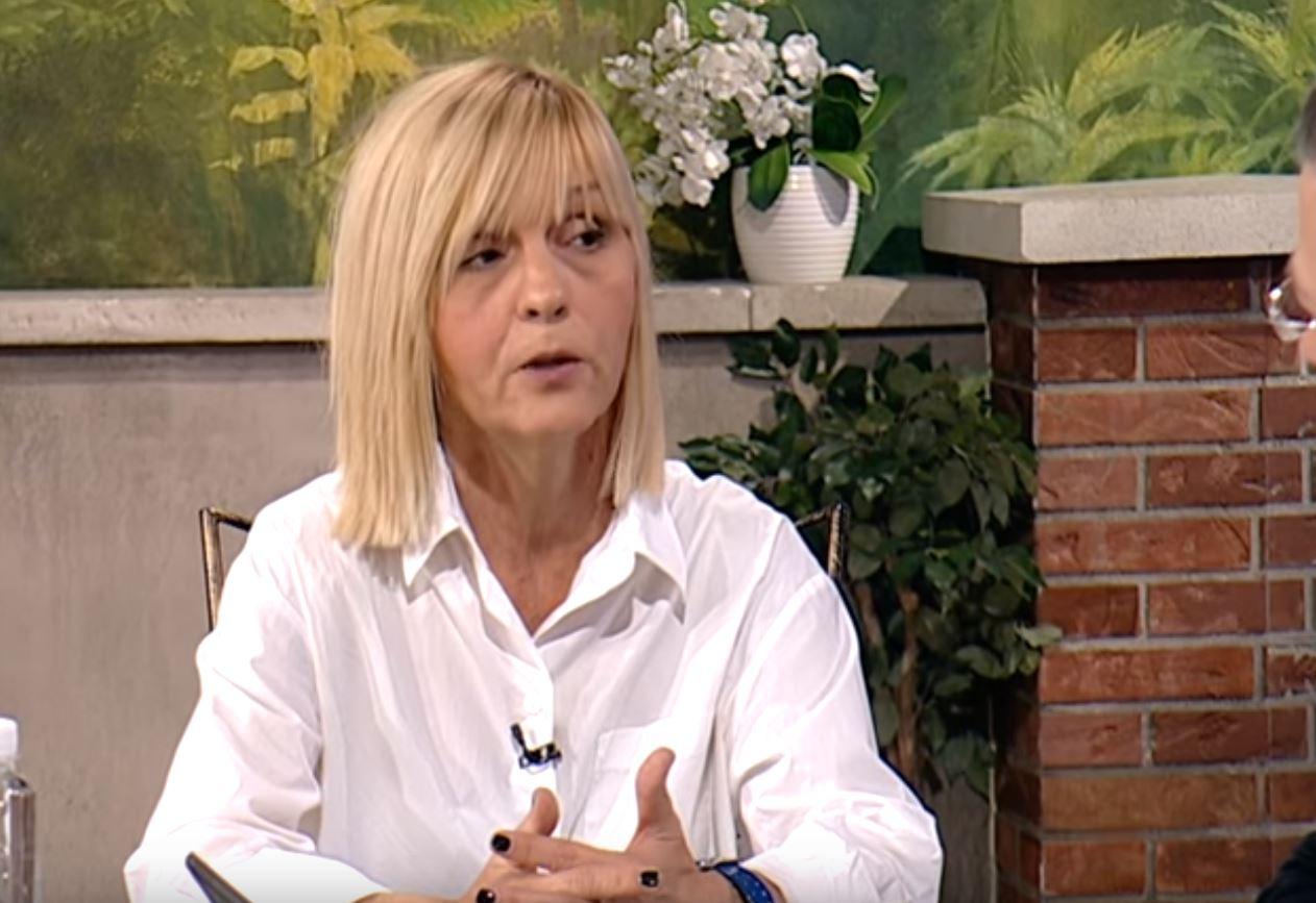 Branka Đukić; Foto: Printscreen emisije Dobro Jutro - Jovana & Srđan,16.11.2015.